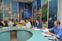Conferenza stampa depuratore Tigullio